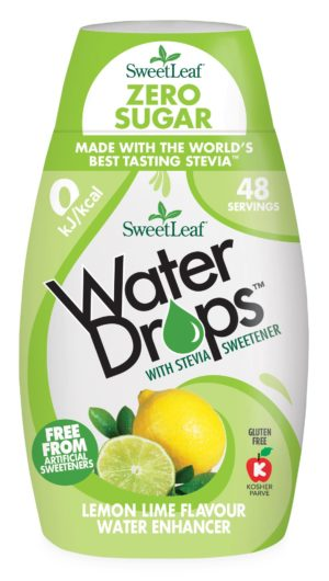 Sweetleaf Water Drops Lemon & Lime 48ml