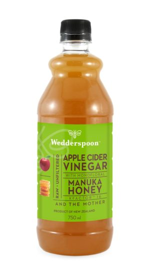 Wedderspoon Apple Cider Vinegar & Manuka Honey with Mother
