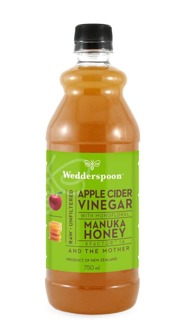 Wedderspoon Apple Cider Vinegar & Manuka Honey with Mother