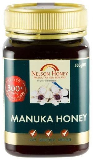 Nelson Manuka Honey 500g MG 300+ - 500g