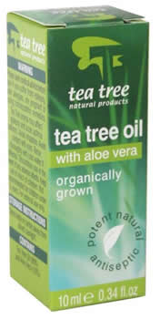 Nature's Response Tea Tree Oil with Aloe Vera - 10ml