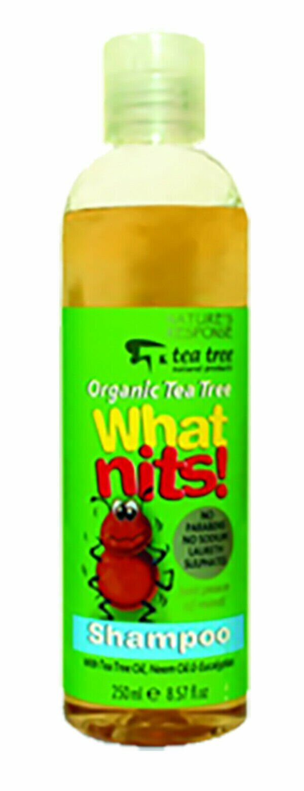Nature's Response Organic Tea Tree What Nits! Shampoo - 250ml