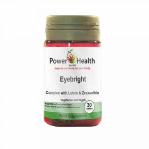 Power Health Eyebright Complex with Lutein & Zeaxanthin - 30 tabs