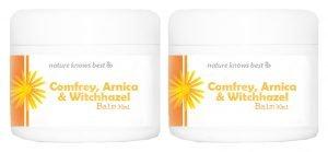 Power Health Comfrey, Arnica & Witch Hazel Balm - 2 x 30ml tub TWIN PACK